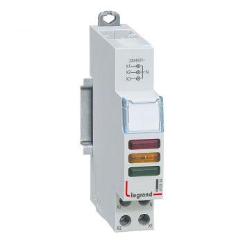 Lampa Prezenta Tensiune Cx3 Ind-Red-Plus-Green-Plus-Ylw-230-400V Legrand 412934