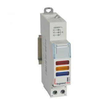 Lampa Prezenta Tensiune Cx3 Ind-Red-Plus-Ylw-Plus-Blue-230-400V Legrand 412935