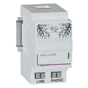 Componente Multimedia Active Filtre Maitre Adsl Legrand 413011