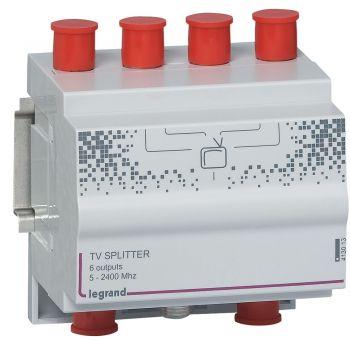 Componente Multimedia Active Repartitor Tv 6 Iesiri Legrand 413013