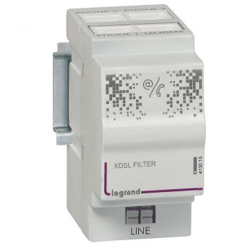 Componente Multimedia Active Filtru Adsl-Repartit-Telef-3S Legrand 413015