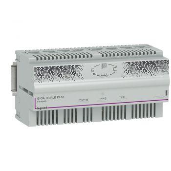 Componente Multimedia Active Centrale Triple Play Giga 8 S Legrand 413044