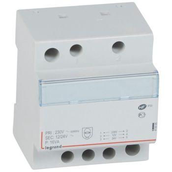 Transformator Modular Transfo De Securite 12-24 16Va Legrand 413095