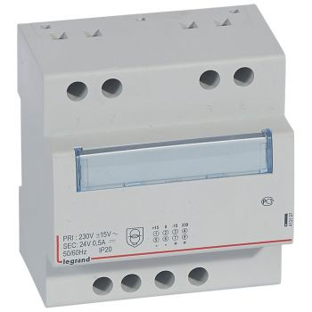 Transformator Modular Alim Rf 24V 12W 0-5A Modulaire Legrand 413107