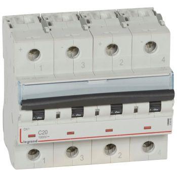 Siguranta Automata Mcb 2P B20 1000V Dc Legrand 414449