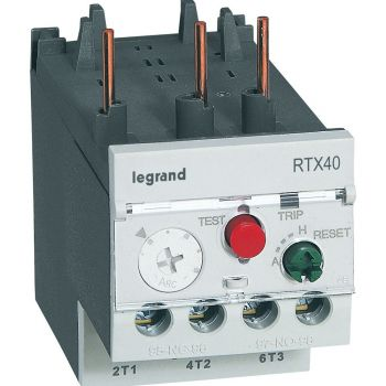 Releu Termic Rtx Relay 0-25 -0-4A D Sz2 3 Legrand 416662