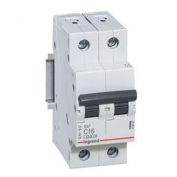 Siguranta Automata Rx3 Disjunctor 2P C16 4500A Monoconnect Legrand 419697
