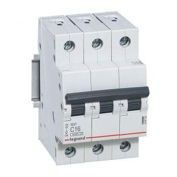 Siguranta Automata Rx3 Disjunctor 3P C16 4500A Monoconnect Legrand 419708