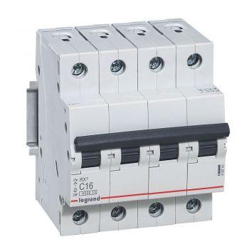 Siguranta Automata Rx3 Disjunctor 4P C16 4500A Monoconnect Legrand 419741