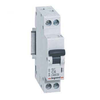Siguranta Automata Rx3 Mcb 1P-Plus-Nl C6 4500A 1Mod Legrand 419946