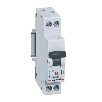 Siguranta Automata Rx3 Mcb 1P-Plus-Nl C10 4500A 1 Mod Legrand 419947