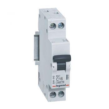 Siguranta Automata Rx3 Mcb 1P-Plus-Nl C16 4500A 1 Mod Legrand 419949