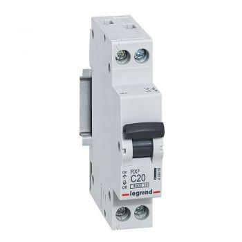 Siguranta Automata Rx3 Mcb 1P-Plus-Nl C20 4500A 1 Mod Legrand 419950