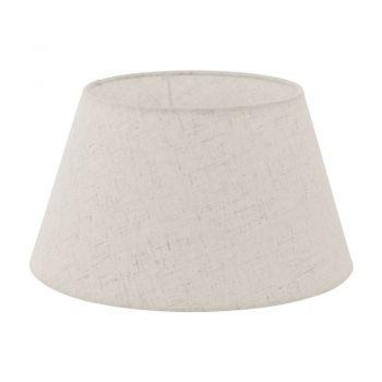 Iluminat Vintage Abajur E27-E14 D300 Crem Eglo 49968
