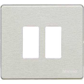 Bticino Magic Rama 2M Separate Aluminiu 500/2/AL