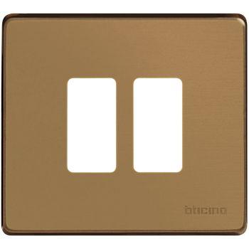 Bticino Magic Rama 2M Separate Bronz 500/2/BR