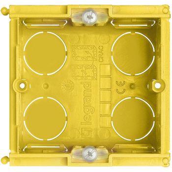 Bticino Doza Aparataj Modular Doza aparataj Stitalian zidarie 2M montaj Ingropataat 502E