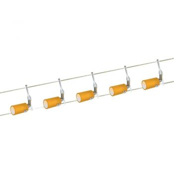 Corpuri de iluminat pe cabluri Nv-Seilsystem-5 M-Glas Terracotta'Line 3 Eglo 51233