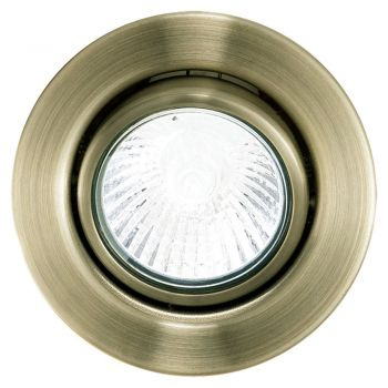 Spoturi iluminat Set 3 Spoturi Incastrabile Orientabile Eglo 5462