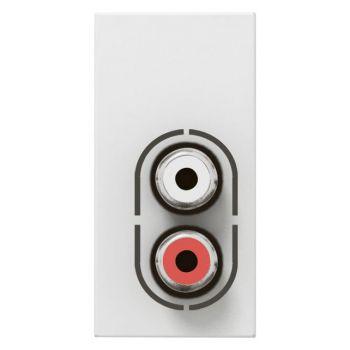 Legrand Arteor Priza Dubla Rca Audio Arteor Legrand 572272