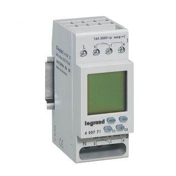 Ceas Programator Timer Modular Digi Clock 2C 230V English Legrand 603771