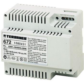 Bticino Videointerfonie Interfata -Alim 230v Ac- 6din 672