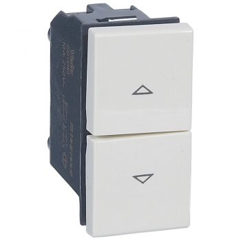 Legrand Vela Push Button 250V10A White Legrand 687018