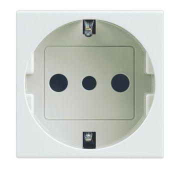 Legrand Vela Skt 2P-Plus-E 16A Germ White Legrand 687041