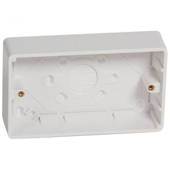 Aparataj Synergy Uk Plastic Surface Boxes 2G 35Mm Legrand 736410