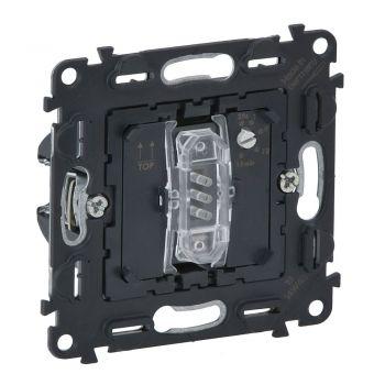 Legrand Valena Life-Allure Intrerupator Plus-Temporizator Ventilatie Cu Neutru 10Ax Fara Placa Legrand 752032