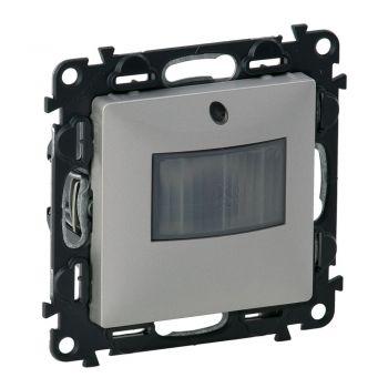 Legrand Valena Life Intrerupator Aut-Senzor De Miscare Fara Neutru 250W 10S-10Min Aluminiu Legrand 752370