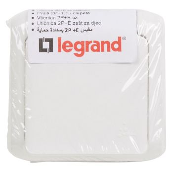 Legrand Forix Ip44 Switch 2W-Plus-2P-Plus-E F-B Scket White Legrand 782376