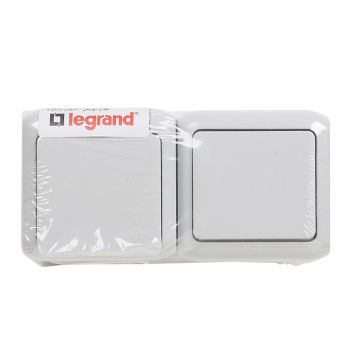 Legrand Forix Ip44 Intrerupator Plus-Priza 2P-Plus-T Gri Legrand 782391