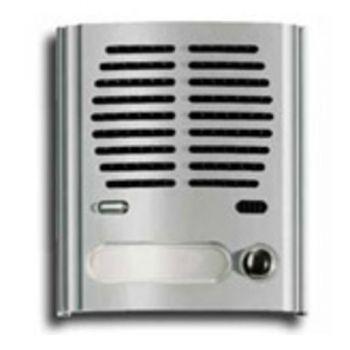 1-button audio module, light grey vimar ELVOX Door entry 8011