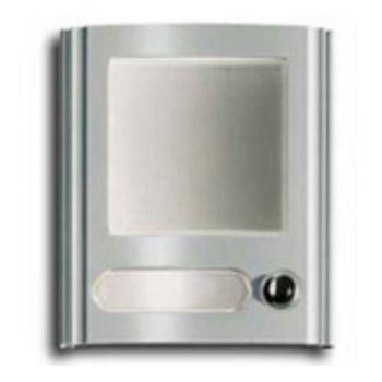 1-button house number module, light grey vimar ELVOX Door entry 80N1