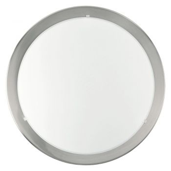 Aplice iluminat Aplica - Plafoniera 1 Bec E27 Nichel Mat Eglo 82942