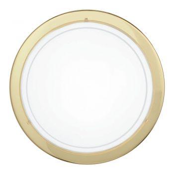 Aplice iluminat Aplica - Plafoniera 1 Bec E27 Auriu Plan Eglo 83157