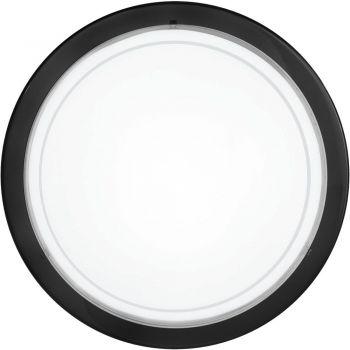 Aplice iluminat Aplica - Plafoniera 1 Bec E27 Negru 'Pla Eglo 83159