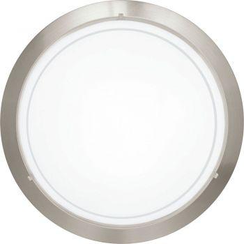 Aplice iluminat Aplica - Plafoniera 1 Bec E27 Nichel Mat Eglo 83162