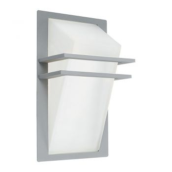 Corpuri de iluminat exterior Aplica Exterior 1 Bec E27 Argintiu 'Park Eglo 83432