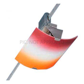 Corpuri de iluminat pe cabluri Spot 1X40W G9  Rosu-Orange  Power Line Eglo 86219