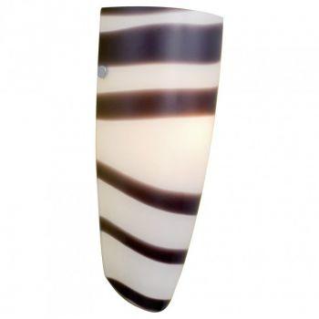 Corpuri de iluminat moderne Aplica 1X100W E27 Alb-Negru'Naro' Eglo 87275