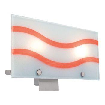 Corpuri de iluminat moderne Aplica 2X40W G9 Nichel-Mat Orange'Yola 1 Eglo 88015