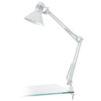 Corpuri de iluminat birou Veioza 1 Bec E27 Alb 'Firmo' Eglo 90872