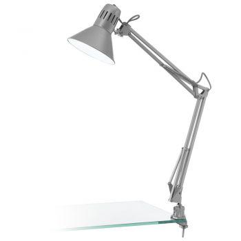 Corpuri de iluminat birou Veioza 1 Bec E27 Argintiu 'Firmo' Eglo 90874