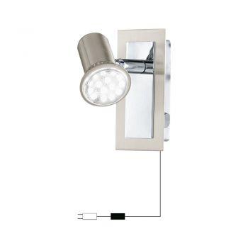 Spoturi iluminat Wl-1 Nickel-M-Chrom 'Rottelo' Eglo 90914F