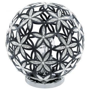 Corpuri de iluminat moderne Tl-1 Schwarz-Eloxiert-Chrom'Silvestro' Eglo 91277