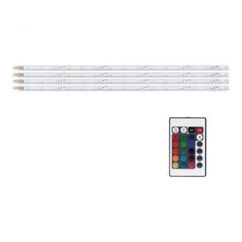 Banda LED EGLO 92049 - LED 4X1.2W (4X15 LED) 440lm 4000K - Alb