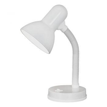 Corpuri de iluminat birou Veioza Brat Flexibil 1 Bec E27 Alb 'Basi Eglo 9229