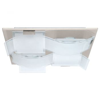Corpuri iluminat Crystal Design Plafoniera 4 Becuri Nichel Mat-Satinat-C Eglo 93398